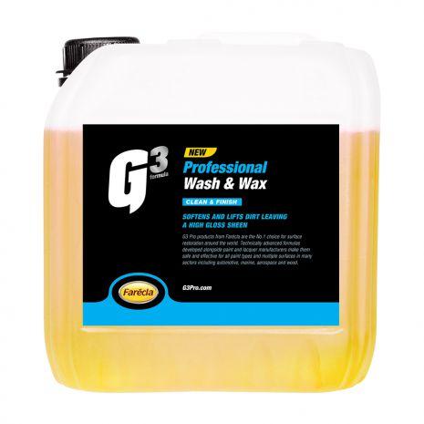 Xà bông rửa xe và Wax G3 Pro Wash & Wax 1 Gallon