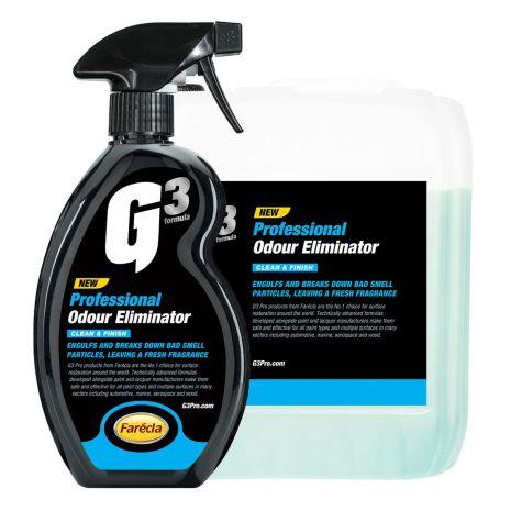 Chai xịt khử mùi xe ô tô G3 Pro Odour Eliminator
