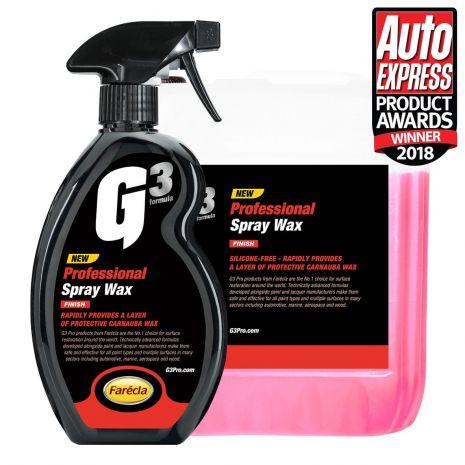 Chai xịt Wax bề mặt sơn G3 Pro Spray Wax