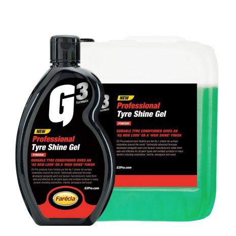 Gel bảo dưỡng và tạo độ bóng lốp xe G3 Pro Tyre Shine Gel