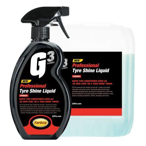 Chai xịt bảo dưỡng và tạo độ bóng lốp xe G3 Pro Tyre Shine Liquid