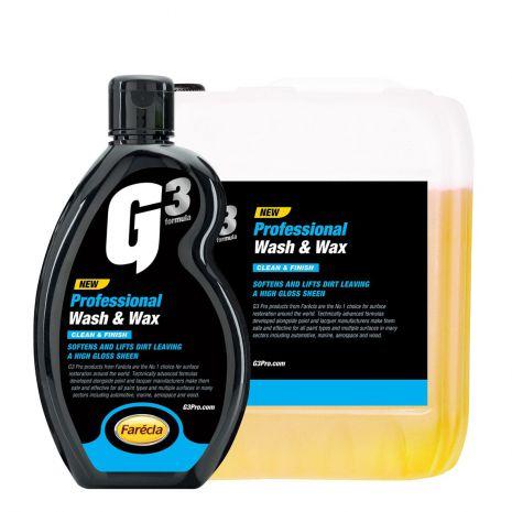 Xà bông rửa xe và Wax G3 Pro Wash & Wax