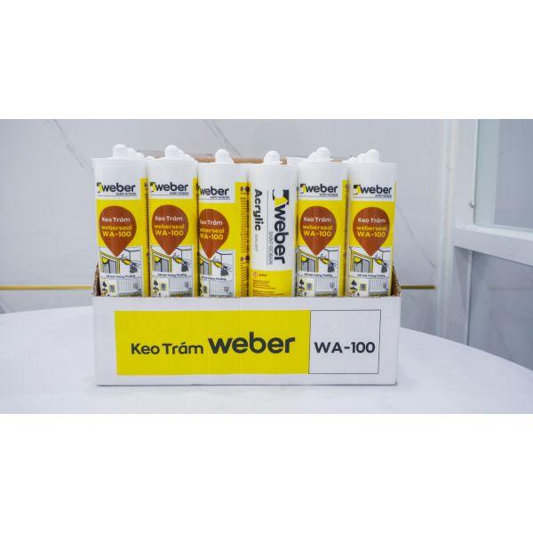 Keo trám weberseal WA-100 gốc ACRYLIC