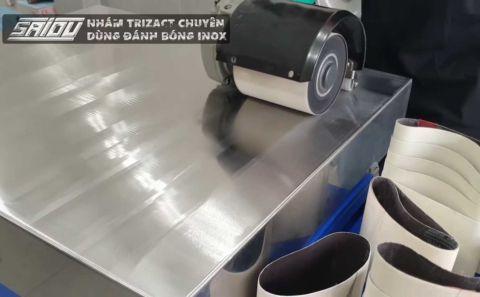 Nhám Trizact chuyên chà Inox