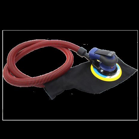 Máy chà nhám tròn lệch tâm hiệu Well Pneu PS3604 - tự hút bụi