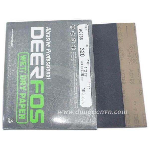 Giấy nhám tờ NAI đen (DeerFos)