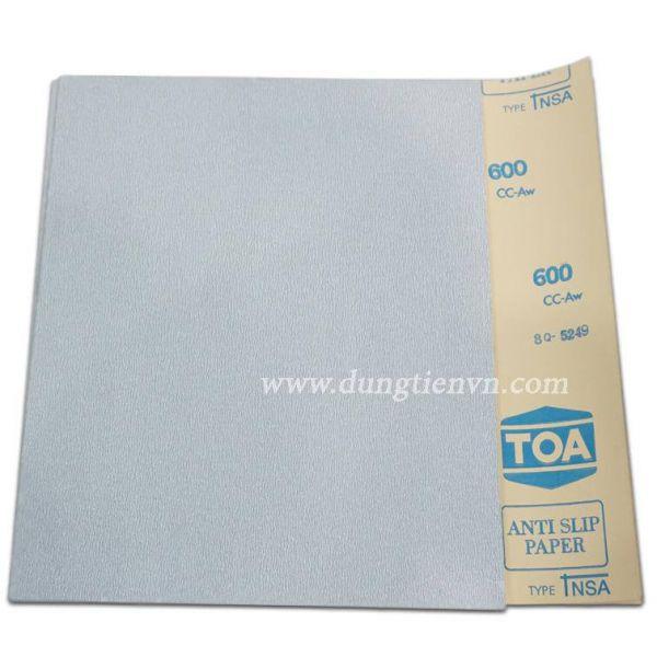 Giấy nhám tờ TOA trắng (Made in Thailan)