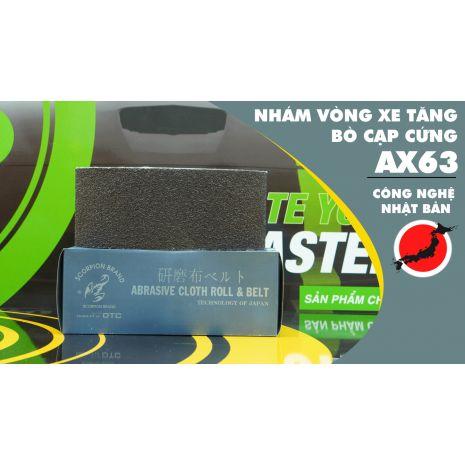 Nhám Vòng Xe Tăng Bò Cạp Cứng AX63 (Technology of Japan)