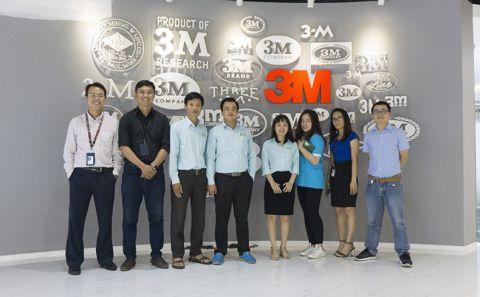 Buổi Training Kiến thức về sản phẩm tại văn phòng đại diện của 3M