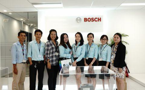 Buổi Training Kiến thức về máy tại văn phòng đại diện của Bosch